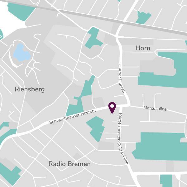 Karte Schwachhausen