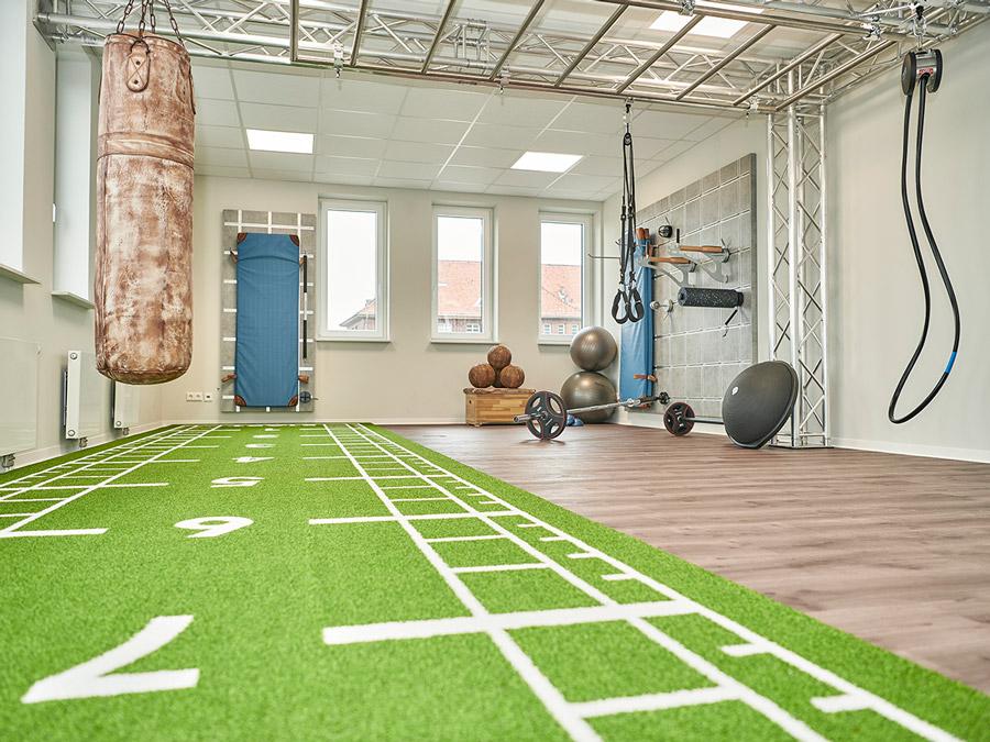 Ärztehaus Fitnessraum